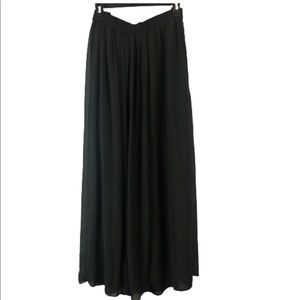 mossimo maxi skirt Pleaded Open Side XL
